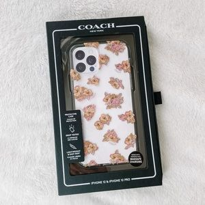 NEW Coach iPhone 12/iPhone 12 Pro Floral Case